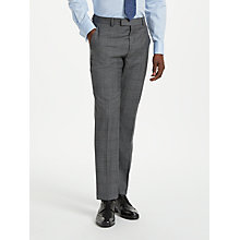 Buy Richard James Mayfair Plaid Check Slim Suit Trousers, Grey Online at johnlewis.com