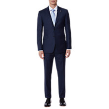 Buy Ted Baker Corkj Plain Wool Tailored Suit Jacket, Navy Online at johnlewis.com