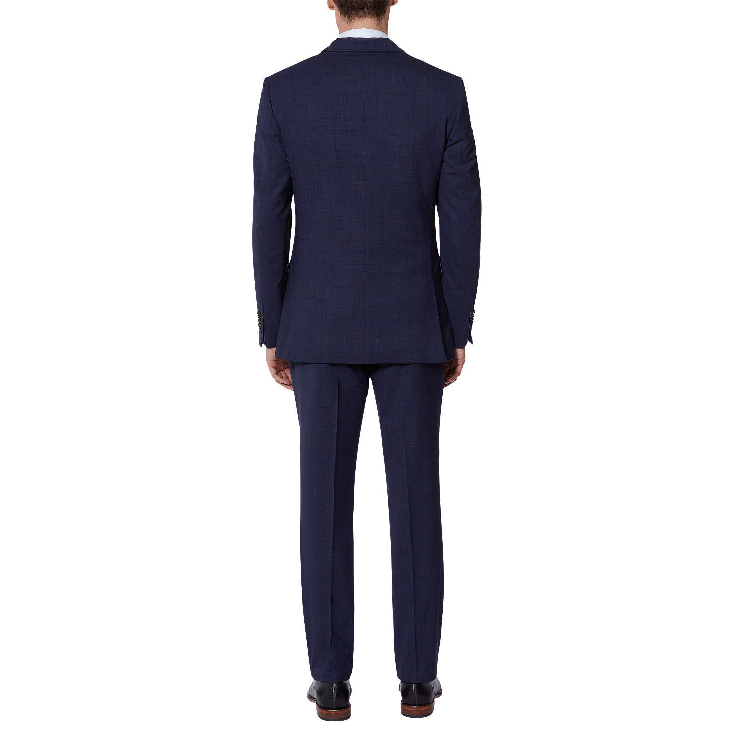 BuyTed Baker Vienaj Check Tailored Suit Jacket, Blue, 42L Online at johnlewis.com