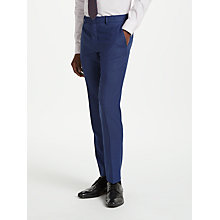 Buy Richard James Mayfair Birdseye Slim Suit Trousers, Blue Online at johnlewis.com