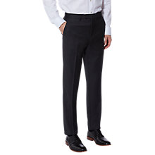 Buy Ted Baker Chalkyt Wool Birdseye Tailored Suit Trousers, Charcoal Online at johnlewis.com