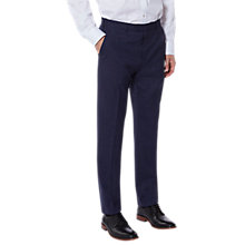 Buy Ted Baker Vienat Check Tailored Suit Trousers, Blue Online at johnlewis.com