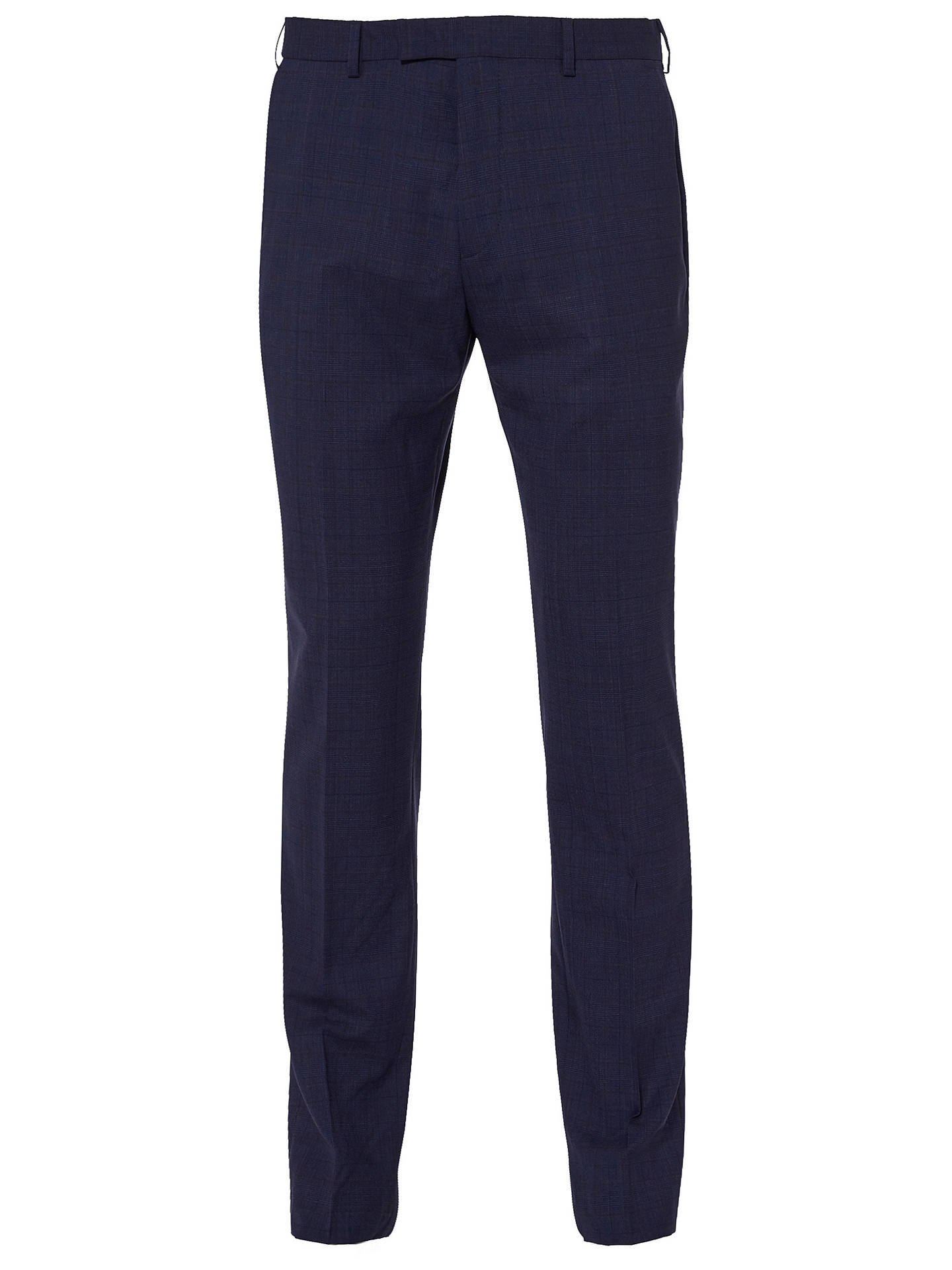 BuyTed Baker Vienat Check Tailored Suit Trousers, Blue, 32S Online at johnlewis.com