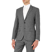 Buy Reiss Bronson Salt and Pepper Wool Slim Fit Suit Jacket, Charcoal Online at johnlewis.com