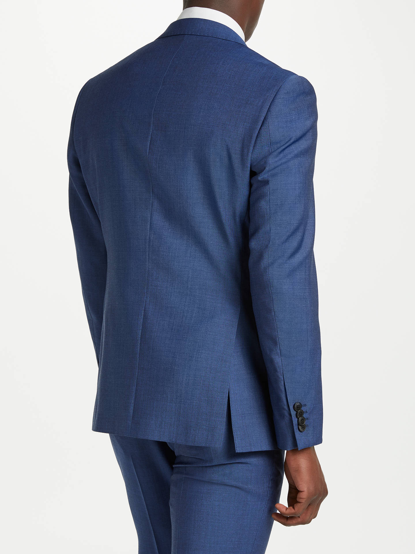 4ce1208b983a8c ... Buy Richard James Mayfair Wool Mohair Tonic Slim Suit Jacket, Blue, 38S  Online at ...