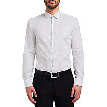 Buy HUGO by Hugo Boss C-Joey Arrow Shirt, White Online at johnlewis.com
