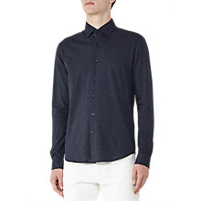 Buy Reiss Hilson Jersey Cotton Shirt Online at johnlewis.com