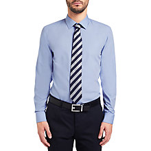 Buy HUGO by Hugo Boss C-Jannik Easy Iron Slim Fit Shirt, Light/Pastel Blue Online at johnlewis.com