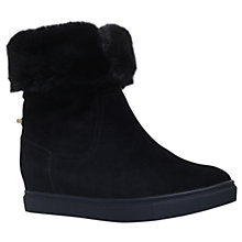 Buy KG by Kurt Geiger High Top Trainers, Black Online at johnlewis.com