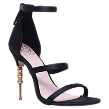 Buy KG by Kurt Geiger Jazz Embellished Stiletto Heeled Sandals Online at johnlewis.com