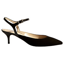 Buy Karen Millen Strappy Pointed Toe Court Shoes Online at johnlewis.com