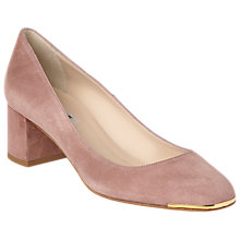 Buy L.K. Bennett Clemence Block Heeled Court Shoes Online at johnlewis.com