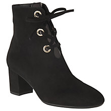 Buy L.K. Bennett Mollie Lace Up Ankle Boots Online at johnlewis.com