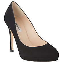 Buy L.K. Bennett Sledge Court Shoes, Black Online at johnlewis.com