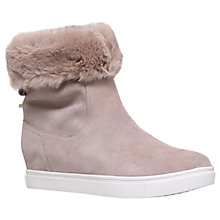 Buy KG by Kurt Geiger High Top Trainers, Beige Online at johnlewis.com