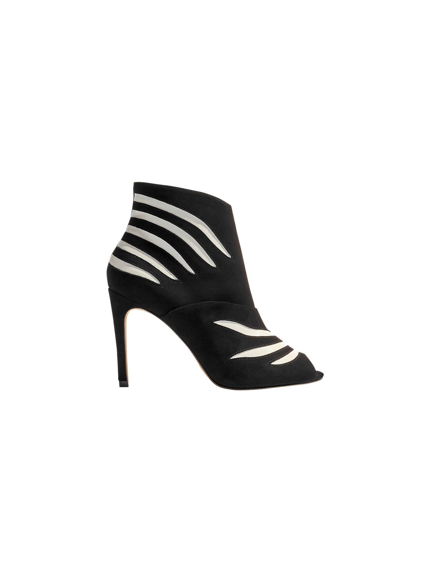 ab630f50e15f Buy Karen Millen Striped Stiletto Heeled Shoe Boots