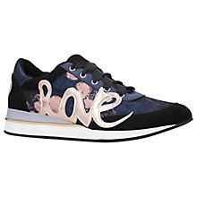 Buy KG by Kurt Geiger Ottilie Low Top Trainers Online at johnlewis.com