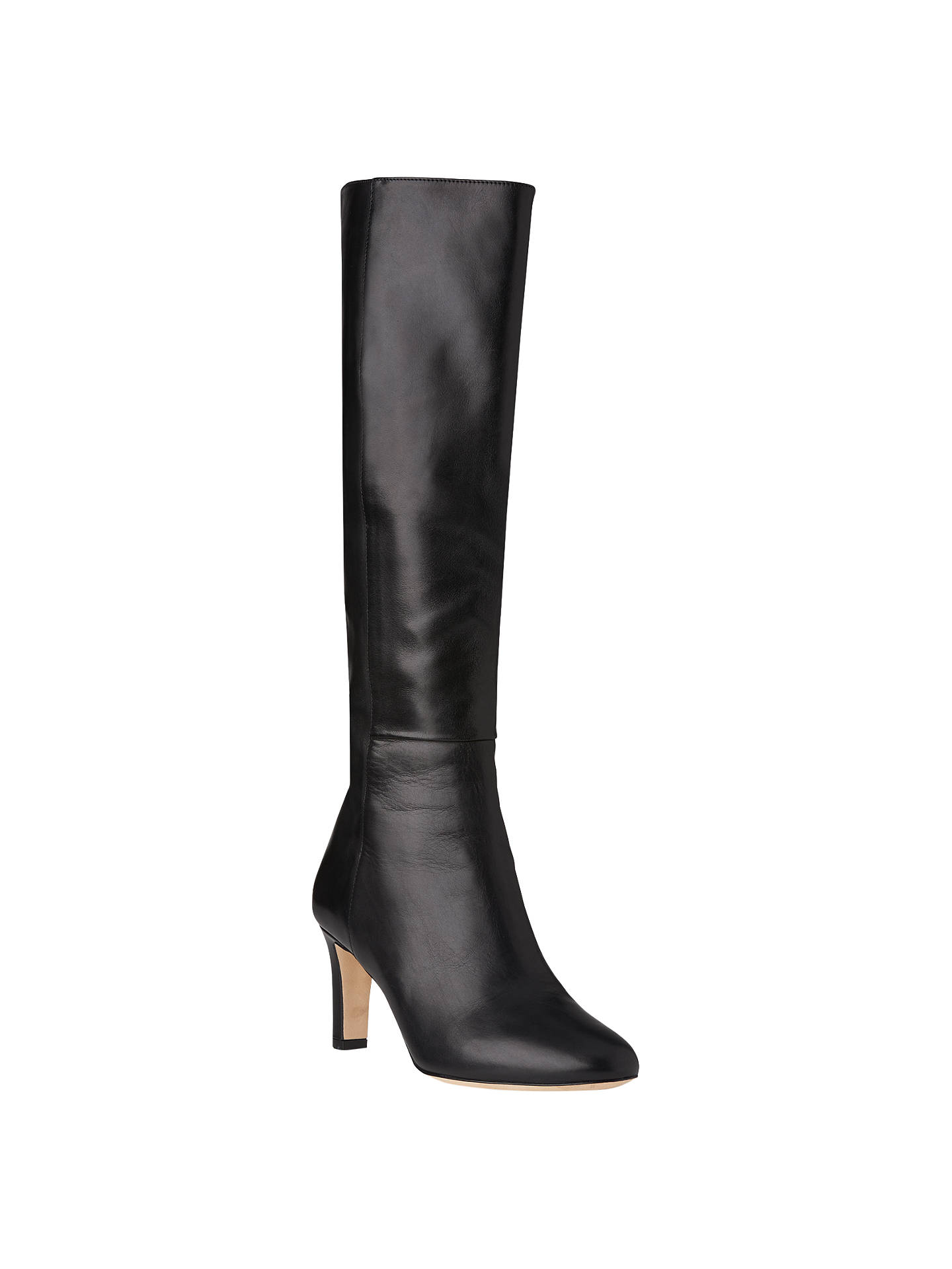 e7b12860a1e Buy L.K. Bennett Eloria Knee High Boots, Black, 2 Online at johnlewis.com  ...