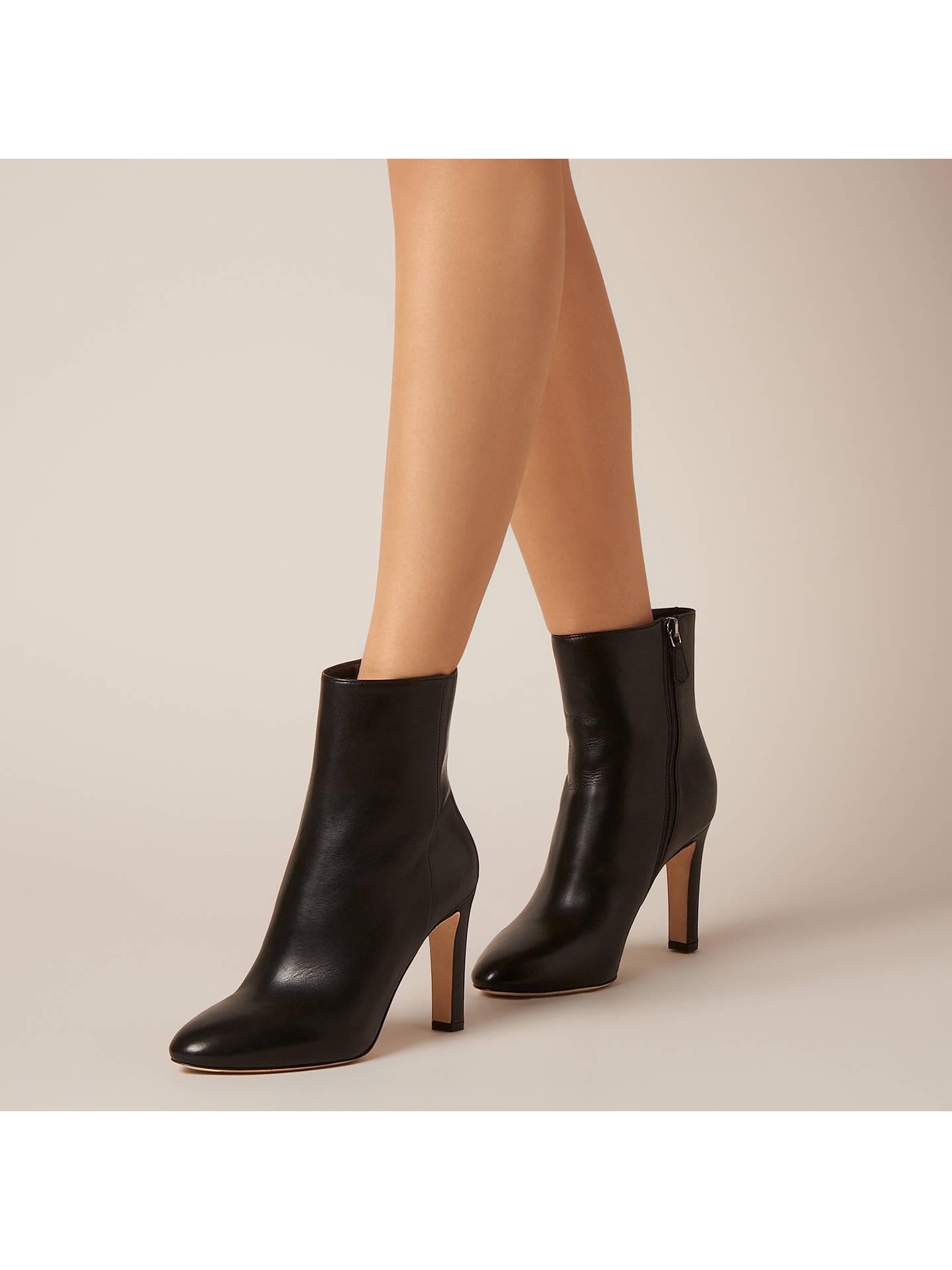 c01b204e3 ... Buy L.K.Bennett Edelle Block Heeled Ankle Boots, Black Leather, 2  Online at johnlewis ...