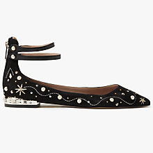 Buy Sam Edelman Roxbury Embellished Pumps, Black Online at johnlewis.com