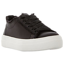 Buy Steve Madden Greyla Lace Up Flatform Trainers Online at johnlewis.com