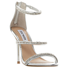 Buy Steve Madden Wren-R SM Jewelled Strap Stiletto Sandals Online at johnlewis.com