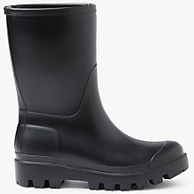 Buy John Lewis Peggy Mid Wellington Boots, Black Online at johnlewis.com