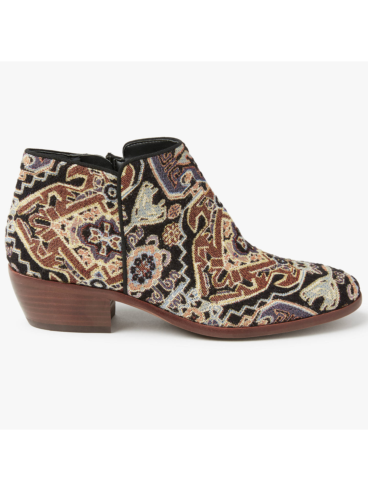 17e2f5433 Buy Sam Edelman Petty Tapestry Block Heeled Ankle Boots