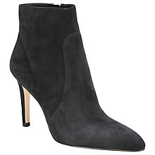 Buy Sam Edelman Olette Stiletto Heeled Ankle Boots, Black Online at johnlewis.com