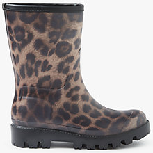 Buy John Lewis Peggy Print Mid Wellington Boots, Multi Online at johnlewis.com