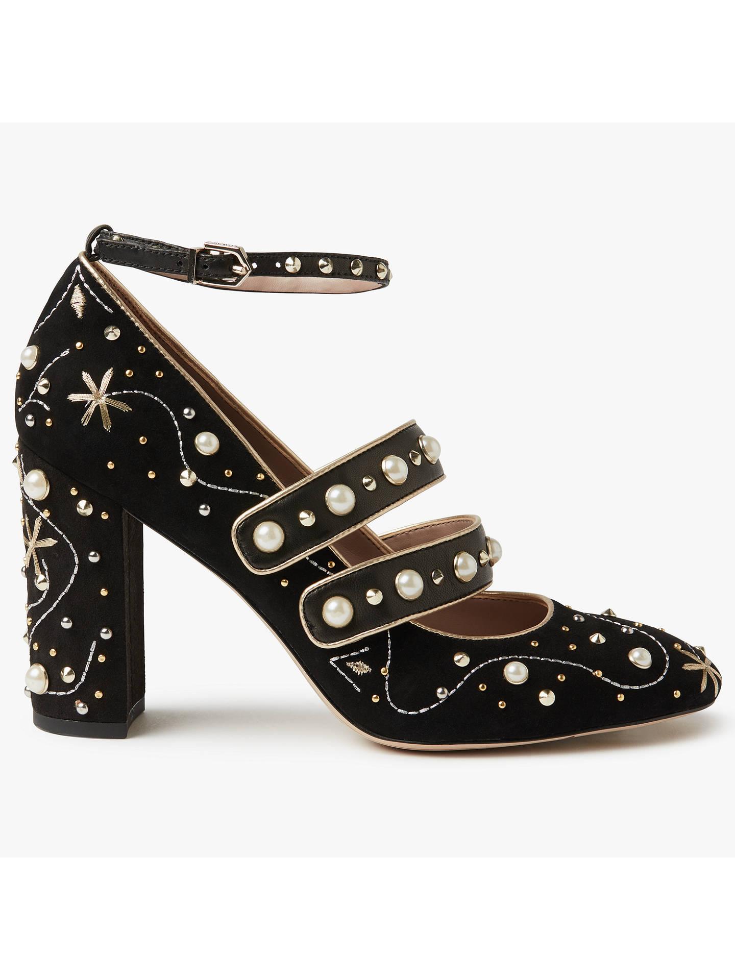 62fc1ec1d6d63 Buy Sam Edelman Semor Embellished Block Heeled Court Shoes