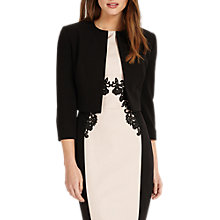 Buy Phase Eight Renee Jacket, Black Online at johnlewis.com