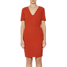 Buy French Connection Whisper V Neck Dress Online at johnlewis.com