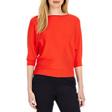 Buy Phase Eight Batwing Knit Jumper, Pout Online at johnlewis.com