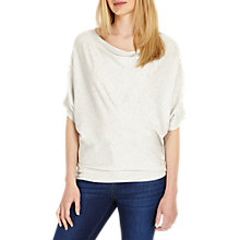 Buy Phase Eight Calanthe Cowl Neck Knit Jumper, Grey Marl Online at johnlewis.com