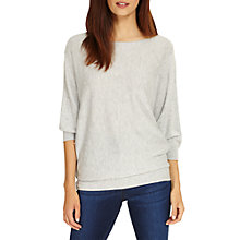 Buy Phase Eight Spot Stitch Becca Jumper, Grey Marl Online at johnlewis.com