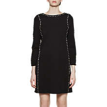 Buy French Connection Lula Rhinestone Tunic Dress, Black Online at johnlewis.com