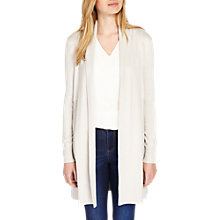Buy Phase Eight Lili Longline Cardigan, Light Grey Online at johnlewis.com