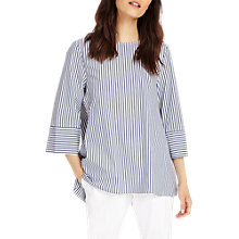 Buy Phase Eight Penelope Stripe Blouse, Multi/Blue Online at johnlewis.com