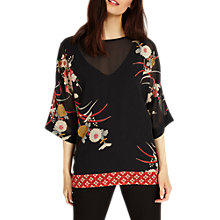 Buy Phase Eight Oriental Print Blouse, Multi Online at johnlewis.com