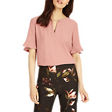 Buy Phase Eight Emma Chain Neck Blouse, Romantic Pink Online at johnlewis.com