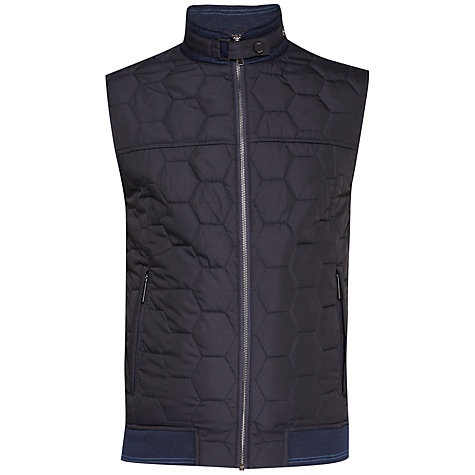 Buy Ted Baker Ferny Jacket, Navy Online at johnlewis.com