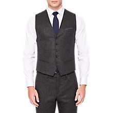 Buy Ted Baker Glenwai Wool Blend Waistcoat, Charcoal Online at johnlewis.com