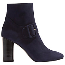 Buy Karen Millen Buckle Block Heeled Ankle Boots Online at johnlewis.com