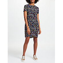 Buy Collection WEEKEND by John Lewis Bird Print Dress, Black/Multi Online at johnlewis.com