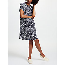 Buy Collection WEEKEND by John Lewis Japanese Floral Print Dress, Navy Online at johnlewis.com
