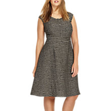 Buy Studio 8 Ally Dress, Black/Grey Online at johnlewis.com