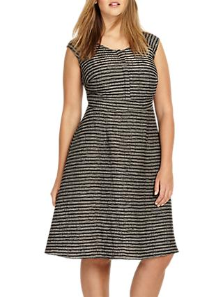 Studio 8 Ally Dress, Black/Grey