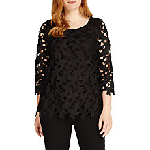 Buy Studio 8 Lainey Lace Top, Black Online at johnlewis.com