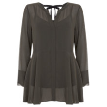 Buy Mint Velvet Ruffle Tunic Online at johnlewis.com
